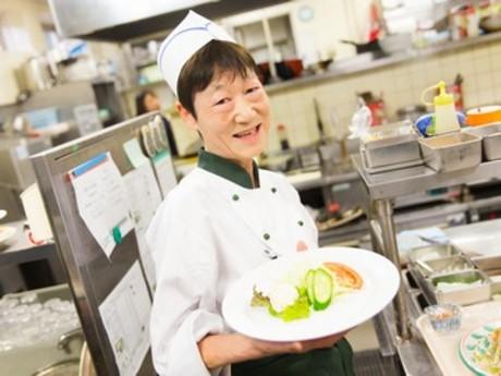 職員食堂・レストランでの簡単な調理・接客スタッフを募集!